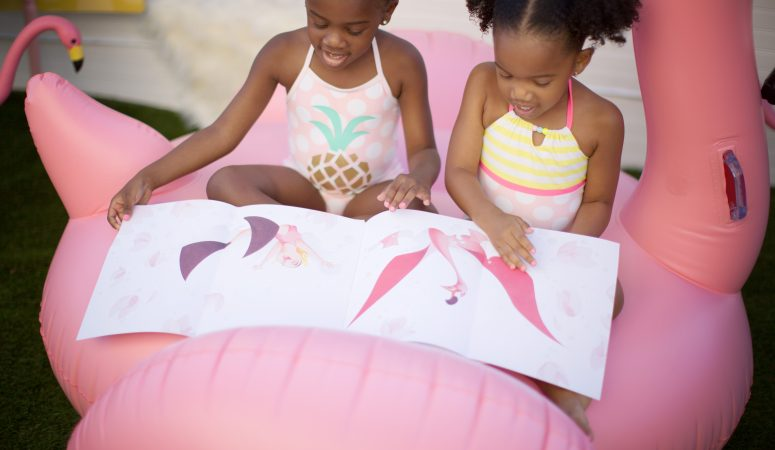 Sprinkles & Flamingos | 2nd Edition | Amelie & Zara | Patty K Photography