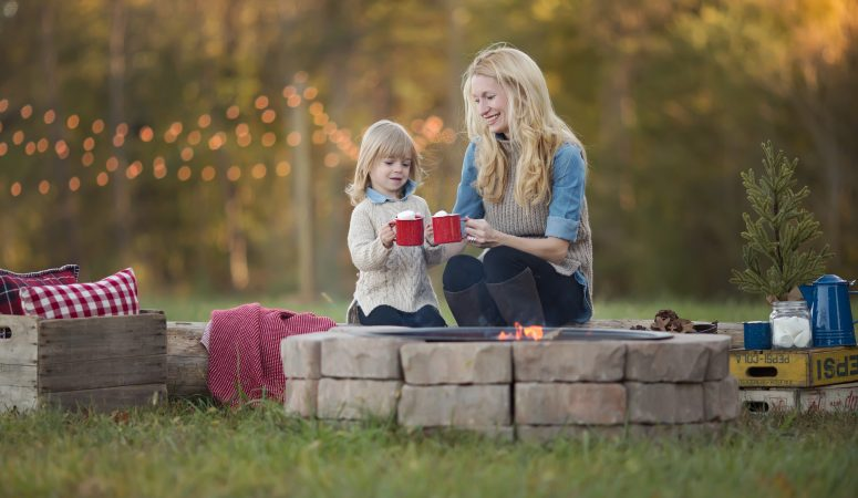 L Family | Very Merry Minis | Greensboro, NC Photographer | Patty K Photography
