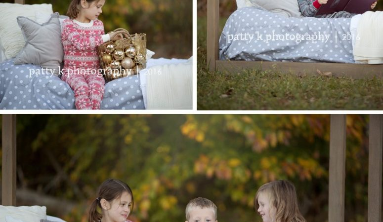 C Family | Pajama Sessions | Greensboro, NC Photographer | Patty K Photography