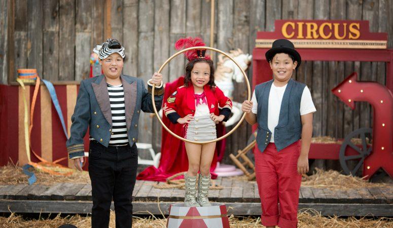 The Trio | Circus Minis | Patty K Photography | Greensboro NC Photographer