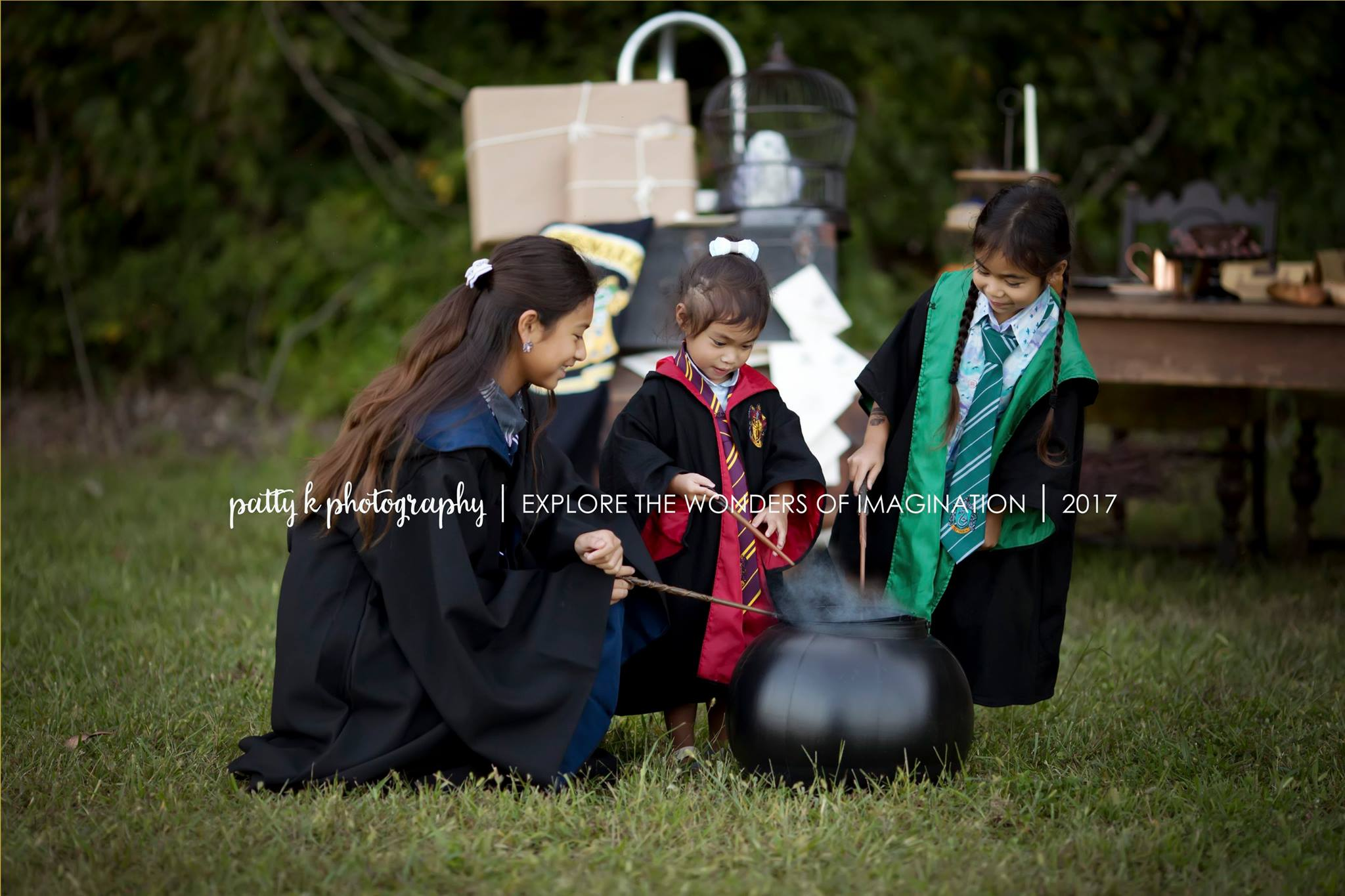 Magic Details & Imagination Sessions | Harry Potter Imagination Session | Greensboro NC Photographer