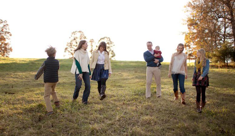 On the Farm | The G Family | Greensboro NC Photographer