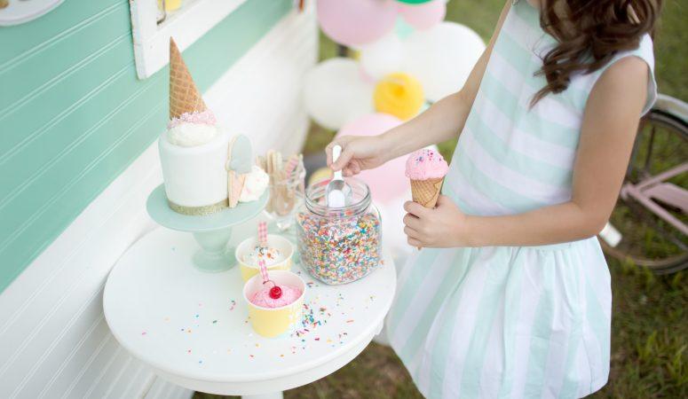 Ice Cream Shoppe is Open | Imagination Mini | Greensboro NC Child Photographer