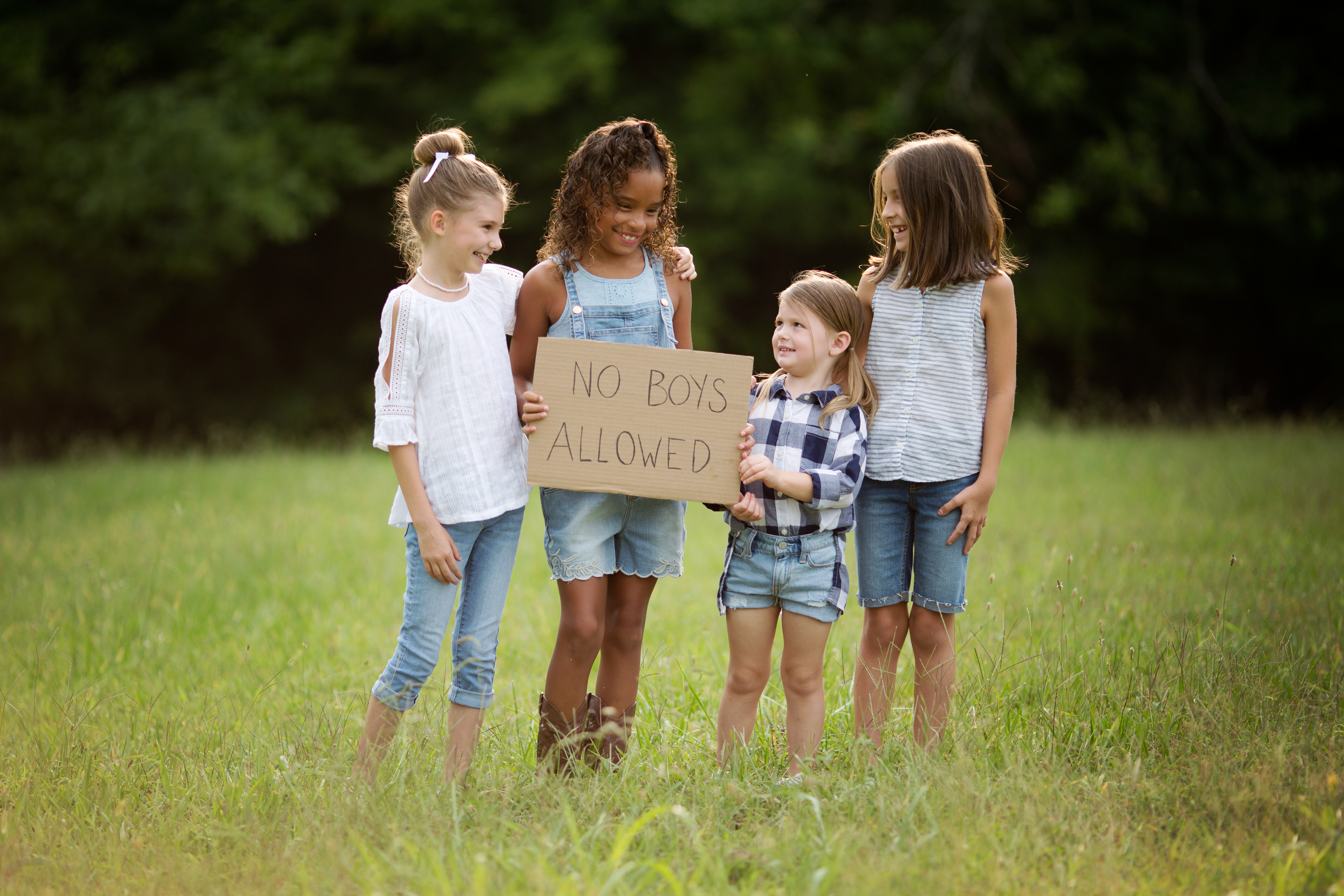 Schools Out & No Boys Allowed | Imagination Session | Greensboro NC Child Photographer