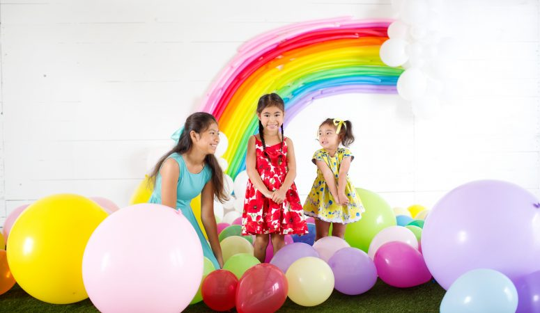 Rainbows & Unicorns   Imagination Sessions   Greensboro NC Child Photographer