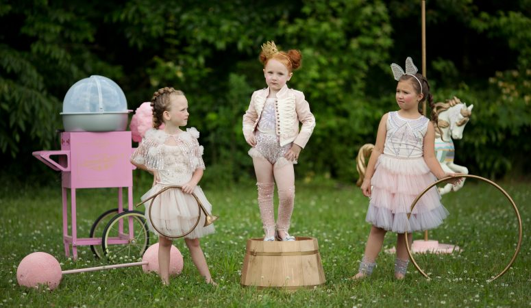 a pink circus | imagination session | greensboro nc photographer