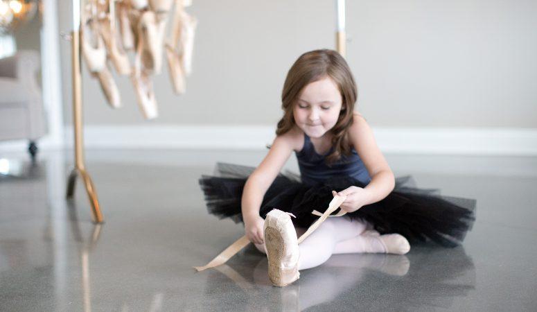 Love of dance | Imagination mini session | greensboro nc child photographer