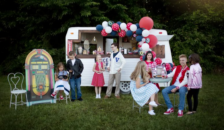 ICE CREAM DAY | 1950 ICE CREAM CAMPER | GREENSBORO NC PHOTOGRAPHER