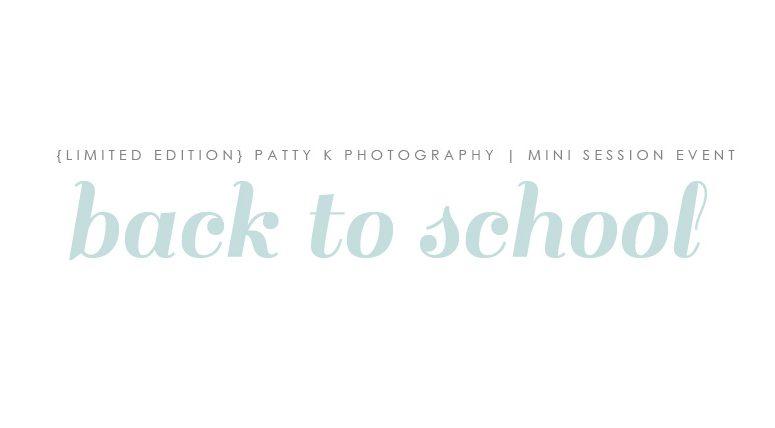 BACK TO SCHOOL | IMAGINATION MINI SESSIONS | GREENSBORO NC CHILD PHOTOGRAPHER