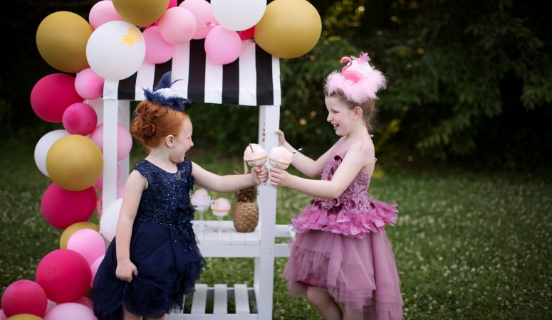 FLAMINGO DERBY | IMAGINATION SHOOT OUT | GREENSBORO NC CHILD PHOTOGRAPHER