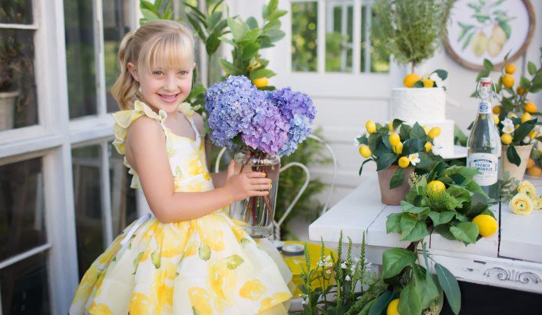 LEMONADE GREENHOUSE | GREENSBORO NC CHILD PHOTOGRAPHER | IMAGINATION MINI SESSIONS