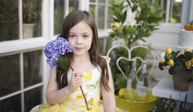LEMONADE GREENHOUSE | PART TWO | GREENSBORO NC CHILD PHOTOGRAPHER | IMAGINATION MINI SESSIONS