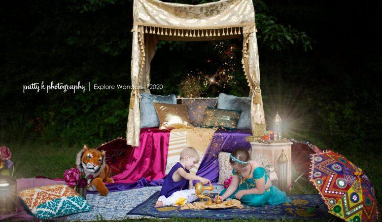 ARABIAN NIGHTS | GREENSBORO NC CHILD PHOTOGRAPHER | IMAGINATION MINI SESSIONS
