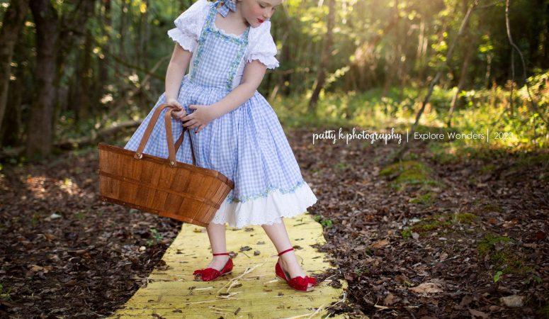 Yellow Brick road | imagination mini sessions | greensboro nc photographer