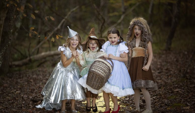 WE ARE OFF TO SEE THE WIZARD | IMAGINATION SESSION | GREENSBORO NC CHILD PHOTOGRAPHER