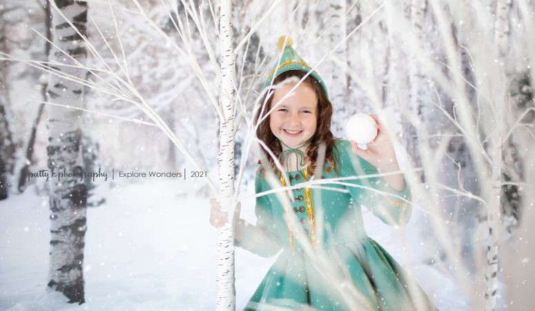 NEW YEAR NEW MAGIC | WINTER PIXIES | GREENSBORO NC CHILD PHOTOGRAPHER