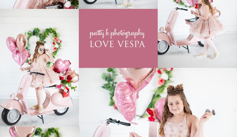 LOVE VESPA | IMAGINATION MINIS | GREENSBORO NC CHILD PHOTOGRAPHER