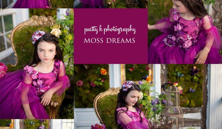 MOSS DREAMS | IMAGINATION SESSIONS | GREENSBORO NC CHILD PHOTOGRAPHER