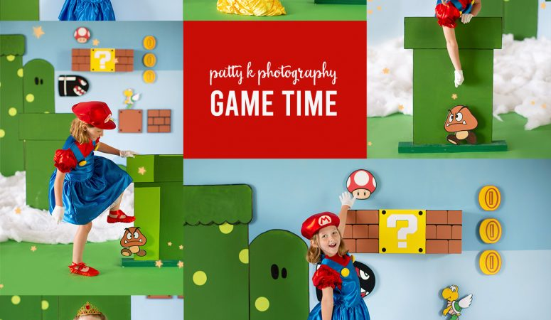 ITS GAME TIME | IMAGINATION EVENTS | GREENSBORO NC CHILD PHOTOGRAPHER