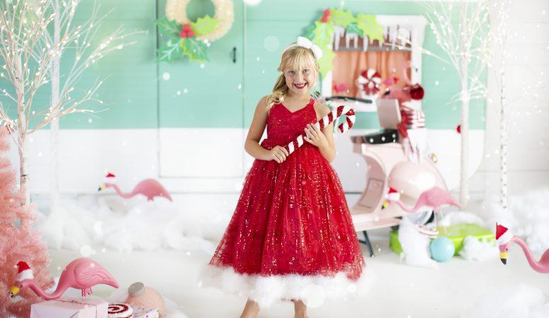 CHRISTMAS IN JULY   JINGLE & FLAMINGLE   GREENSBORO NC CHILD PHOTOGRAPHER