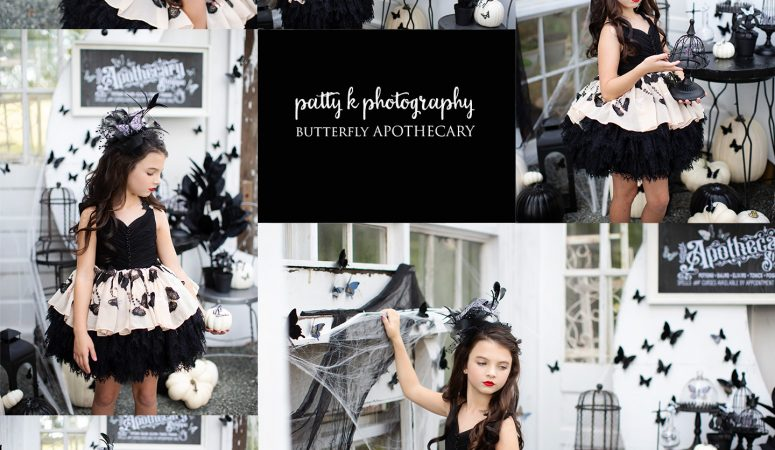 BUTTERFLY APOTHECARY   HALLOWEEN   GREENSBORO NC CHILD PHOTOGRAPHER